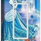 PRINCESS CINDERELLA GFI LIGHT SWITCH COVER CHILDREN'S GIRLS PLAY ROOM BEDROOM
