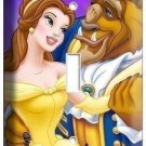 DISNEY BEAUTY AND THE BEAST DANCING SINGLE LIGHT SWITCH PLATE GIRLS ROOM BEDROOM