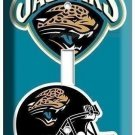 JACKSONVILLE JAGUARS NFL FOOTBALL TEAM LOGO SINGLE LIGHT SWITCH PLATE WALL COVER