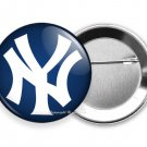 NEW YORK YANKEES BASEBALL TEAM PIN PINBACK BUTTON FLAIR SPORT GAME FAN GIFT IDEA