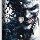 JOKER VILLAIN BATMAN COMICS PHONE TELEPHONE WALL PLATE COVER BOYS BEDROOM DECOR