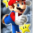 NEW SUPER MARIO BROTHERS SINGLE LIGHT SWITCH WALL COVER NINTENDO BOYS ROOM DECOR