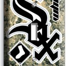 CHICAGO WHITE SOX BASEBALL TEAM SINGLE LIGHT SWITCH WALL PLATE COVER ROOM DECOR