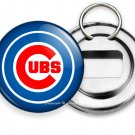 NEW CHICAGO CUBS BASEBALL TEAM BEER BOTTLE OPENER KEYCHAIN KEY FOB FAN GIFT IDEA