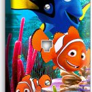 FINDING NEMO CLOWN FISH DORY OCEAN REEF PHONE JACK TELEPHONE WALL PLATE COVER