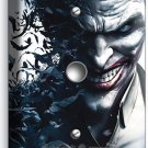 JOKER VILLAIN BATMAN COMICS LIGHT DIMMER VIDEO CABLE WALL PLATE COVER ROOM DECOR