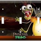 RAY FIREFLY BUG PRINCESS AND FROG DISNEY TRIPLE LIGHT SWITCH COVER WALL PLATE