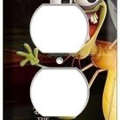NEW RAY FIREFLY PRINCESS AND THE FROG DISNEY POWER OUTLET PLUG COVER WALL PLATE