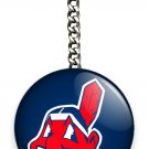 CLEVELAND INDIANS BASEBALL TEAM KEYCHAIN KEY FOB CHAIN SPORTS GAME FAN GIFT IDEA