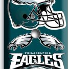 PHILADELPHIA EAGLES FOOTBALL LIGHT DIMMER / CABLE COVER PLATE BOYS ROOM MAN CAVE