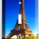 EIFFEL TOWER PARIS LOVE CITY SINGLE LIGHT SWITCH WALL PLATE COVER ROOM ART DECOR