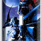 BATMAN VS SUPERMAN WINTER SNOW SINGLE LIGHT SWITCH WALL PLATE COVER BOY ROOM ART