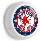BOSTON RED SOX BASEBALL TEAM LOGO WALL CLOCK MAN CAVE LIVING ROOM GARAGE DECOR