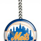 NY NEW YORK METS BASEBALL TEAM KEYCHAIN KEY FOB CHAIN SPORTS SPORT FAN GIFT IDEA