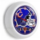 CHICAGO BEARS NFL FOOTBALL TEAM LOGO WALL CLOCK MAN CAVE BOYS BEDROOM ART DECOR