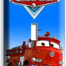 CARS RED FIRE TRUCK SINGLE LIGHT SWITCH WALL PLATE COVER BOYS ROOM BEDROOM DECOR
