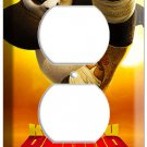 DISNEY KUNG FU PANDA BEAR 2 POWER OUTLET WALL PLATE COVER CHILD ROOM DECOR ART