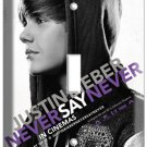 JUSTIN BIEBER NEVER SAY SINGLE LIGHT SWITCH COVER PLATE TEENAGE GIRL ROOM ART