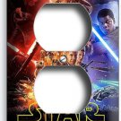 STAR WARS FORCE AWAKENS JEDI REBELS DUPLEX OUTLET WALL PLATE COVER ROOM NY DECOR