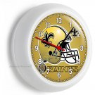 NEW ORLEANS SAINTS FOOTBALL TEAM WALL CLOCK MAN CAVE BOYS TV BEDROOM HOME DECOR