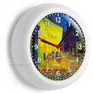 VINCENT VAN GOGH FRENCH ARLES CAFE PAINTING WALL CLOCK LIVING ROOM BEDROOM DECOR