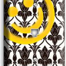 SHERLOCK HOLMES WALLPAPER SMILEY PATTERN PHONE TELEPHONE WALL PLATE COVER DECOR