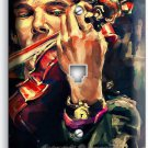 SHERLOCK HOLMES VIOLIN BENEDICT CUMBERBATCH PHONE TELEPHONE COVER ROOM ART DECOR
