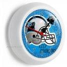 CAROLINA PANTHERS NFL FOOTBALL TEAM LOGO WALL CLOCK MAN CAVE BOYS ROOM GARAGE