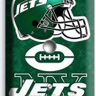 NY NEW YORK JETS NFL FOOTBALL TEAM LIGHT DIMMER VIDEO CABLE WALL PLATE BOYS ROOM