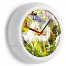 MAGICAL UNICORN WALL CLOCK WHIMSICAL FANTASY BEDROOM NEW BABY NURSERY ROOM DECOR