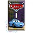 DISNEY'S CARS 3 SALLY PORSCHE SINGLE LIGHT SWITCH WALL PLATE COVER ROOM DECOR