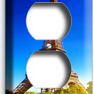 EIFFEL TOWER PARIS LOVE OF CITY DUPLEX POWER OUTLET WALL PLATE COVER HOME DECOR