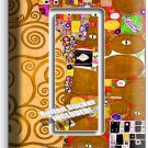 GUSTAV KLIMT TREE OF LIFE GOLD PAINTING SINGLE GFI LIGHT SWITCH WALL PLATE COVER