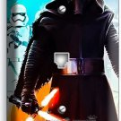 STAR WARS KYLO REN FIRST ORDER STORMTROOPERS PHONE TELEPHONE WALL PLATE COVER SW