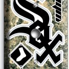 CHICAGO WHITE SOX BASEBALL TEAM LIGHT DIMMER VIDEO CABLE WALL PLATE COVER DECOR