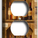 TUSCAN KITCHEN ITALIAN DINING WINE BOTTLE CELLAR DUPLEX OUTLET WALL PLATE COVER