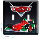 NEW CARS 2 FRANCESCO FORMULA 1 RACING DOUBLE LIGHT SWITCH WALL PLATE COVER movie