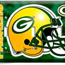 GREEN BAY PACKERS FOOTBALL TRIPLE LIGHT SWITCH WALL PLATE BOYS ROOM MAN CAVE ART