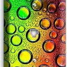 SO COLORFUL GLASS BUBLES WATER DROPS PHONE TELEPHONE WALL PLATE COVER HOME DECOR