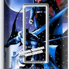 BATMAN VS SUPERMAN WINTER SNOW SINGLE GFI LIGHT SWITCH WALL PLATE COVER BOY ROOM