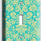 DAMASK SOPHISTICATED ORNAMENT PATTERN SINGLE LIGHT SWITCH WALL PLATE COVER DECOR