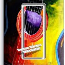 ACOUSTIC GUITAR COLORFUL MODERN ART GFCI SINGLE LIGHT SWITCH WALL PLATE COVER NY