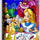 ALICE IN WONDERLAND PHONE JACK TELEPHONE WALL PLATE COVER KIDS BEDROOM ROOM ART
