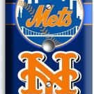 NEW YORK METS BASEBALL TEAM LIGHT DIMMER VIDEO CABLE WALL PLATE COVER BOYS ROOM