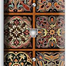 TUSCAN KITCHEN TILE PATTERN PRINT PHONE JACK TELEPHONE WALL PLATE HOME ART COVER