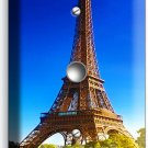 EIFFEL TOWER PARIS LOVE OF CITY LIGHT DIMMER CABLE WALL PLATE COVER HOME DECOR