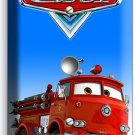 CARS RED FIRE TRUCK LIGHT DIMMER CABLE WALL PLATE COVER BABY BOY BEDROOM DECOR