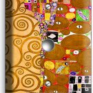 GUSTAV KLIMT TREE OF LIFE GOLD LEAF PAINTING LIGHT DIMMER CABLE WALL PLATE COVER