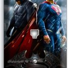 BATMAN V SUPERMAN SUPERHEROS PHONE JACK TELEPHONE WALL PLATE COVER BOYS BEDROOM