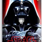DARTH VADER RED GLOW HALMET STAR WARS DARK FORCE PHONE TELEPHONE COVER ART DECOR